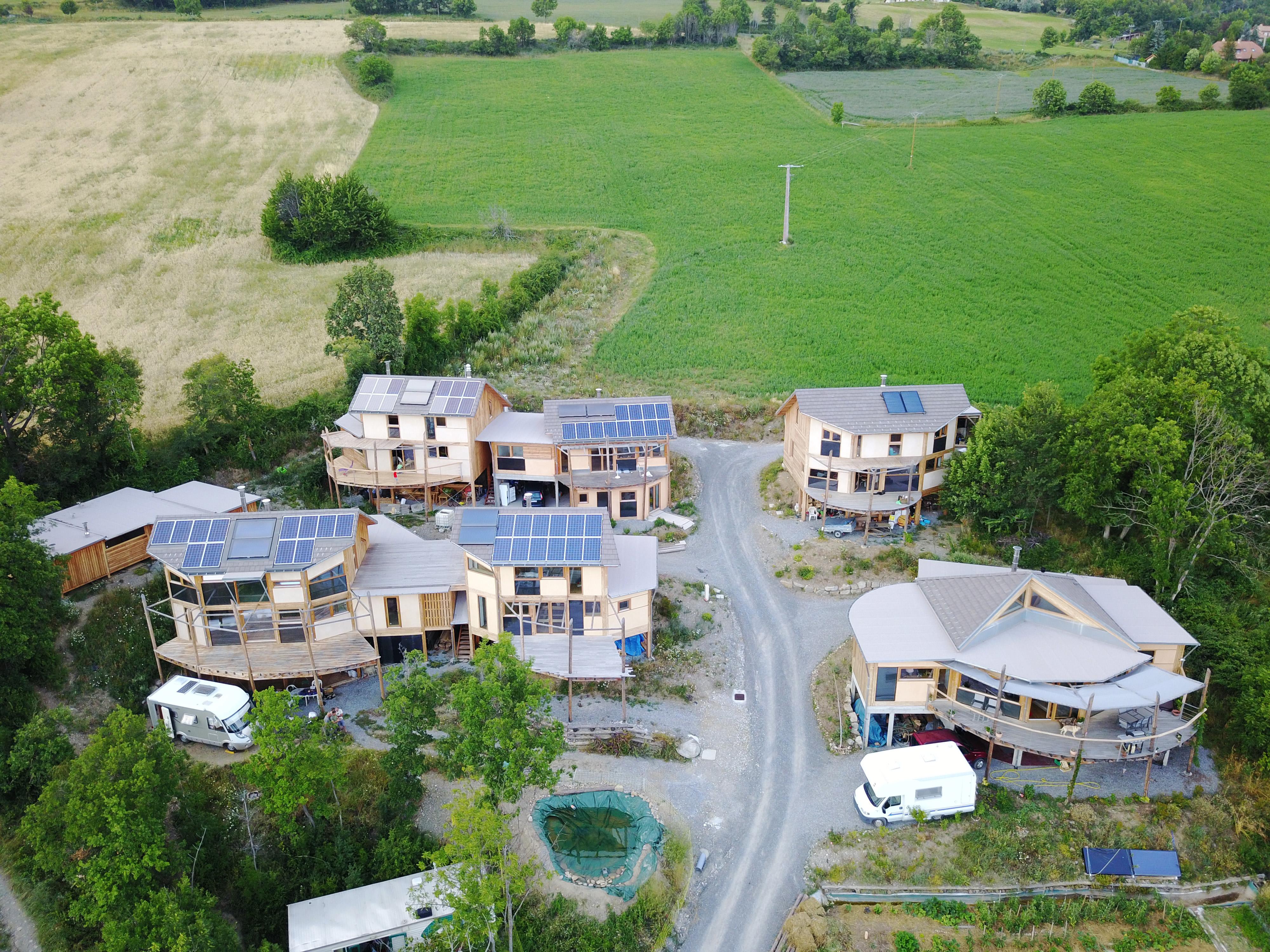 Habitats groupés Les Allouviers – Romette – 2017 – 716 m2